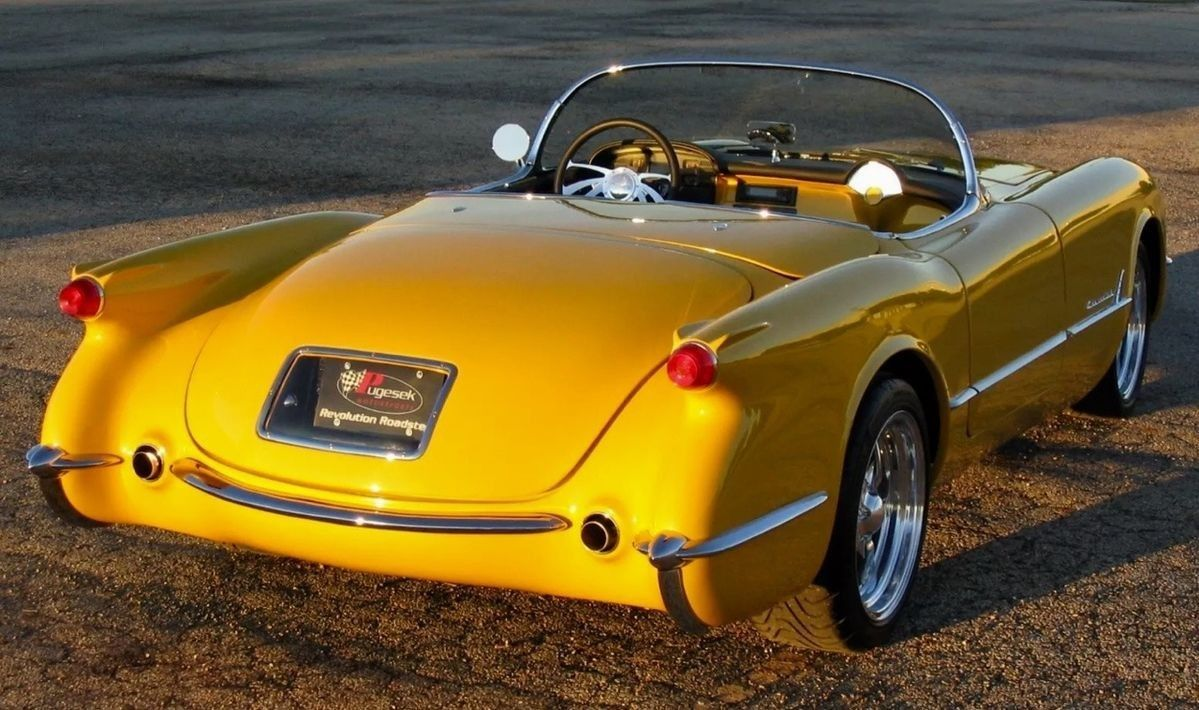 Pin By Brian On Yay Yellow Classic Cars Volkswagen Corvette Summer