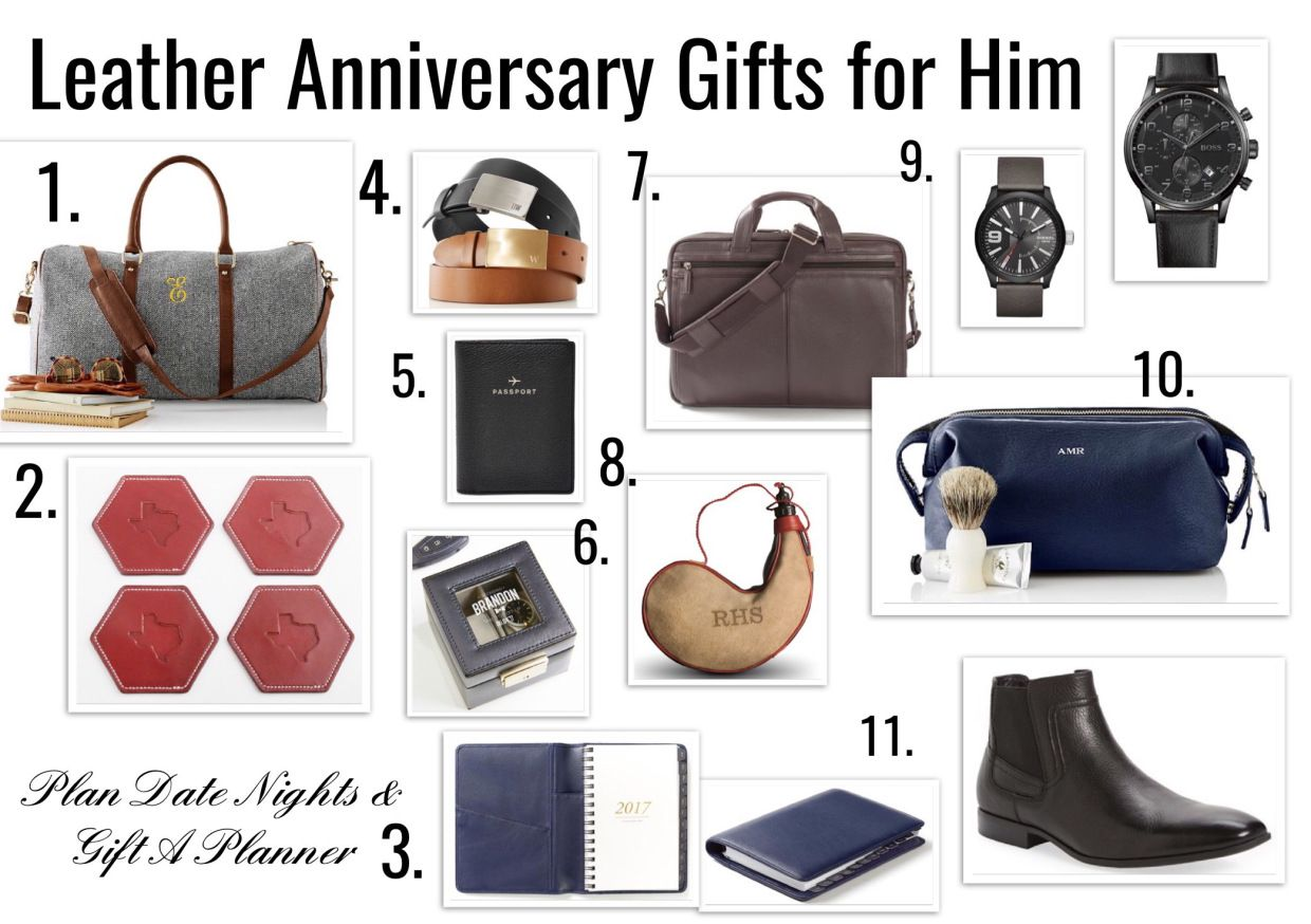 3 year anniversaryleather gift ideas for him leather