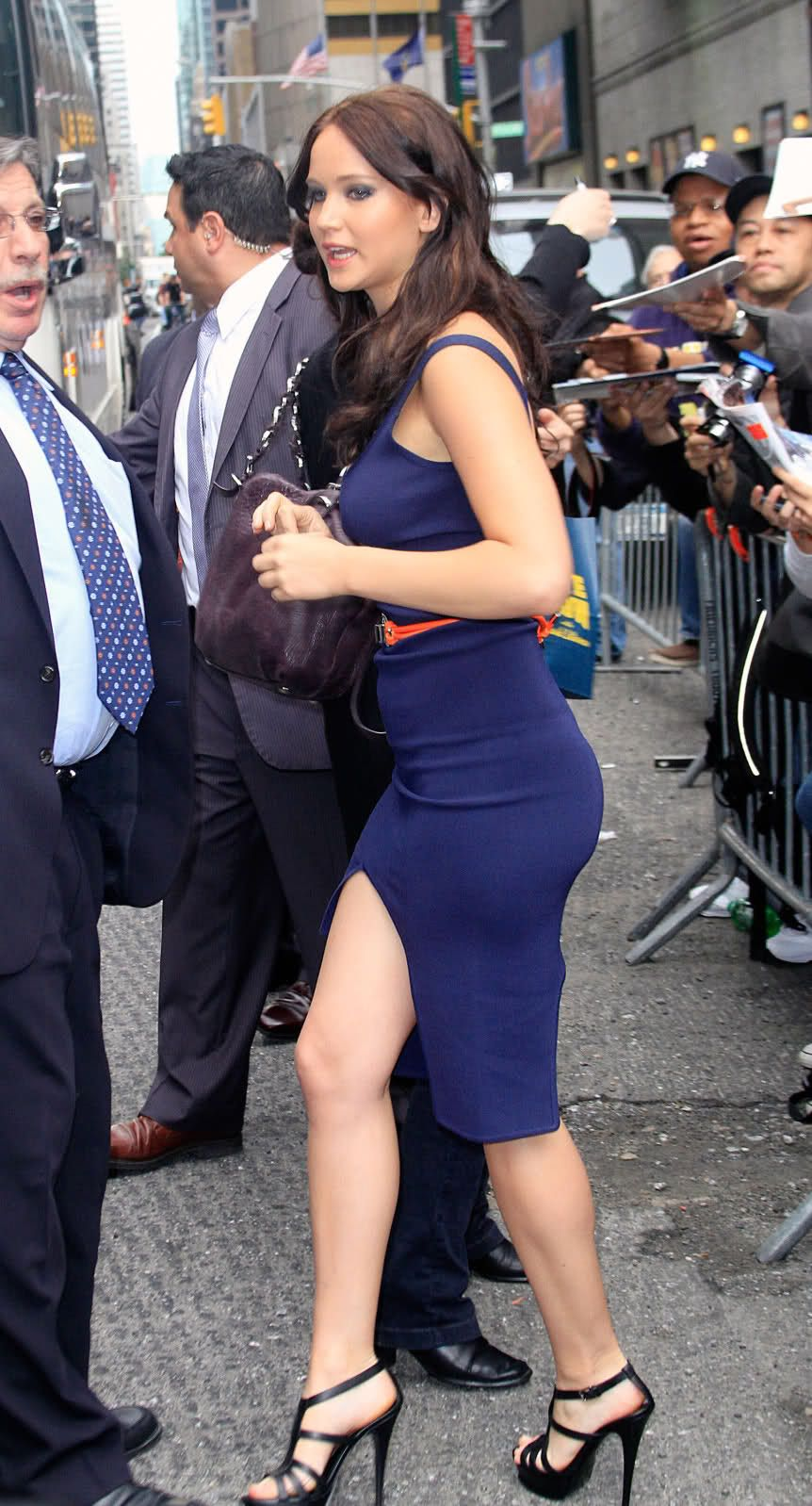 Jennifer Lawrence .... dang girl!! =) And who says curves are ...