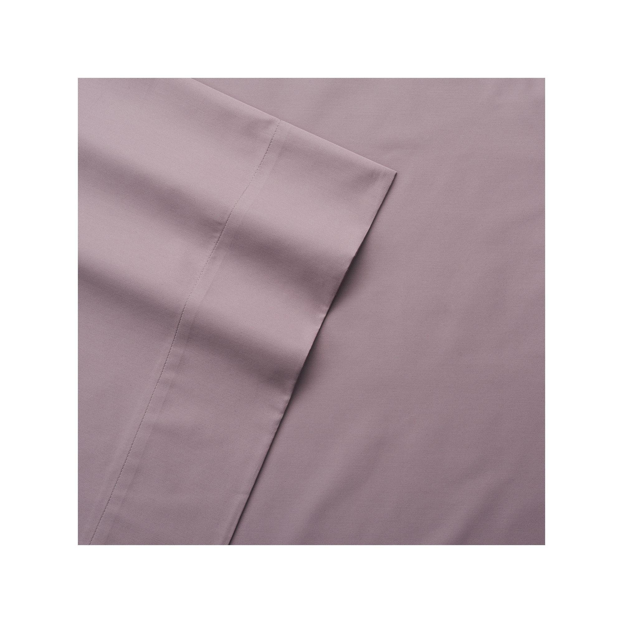 Purple Croft /& Barrow 525 Thread Count King Sheet Set