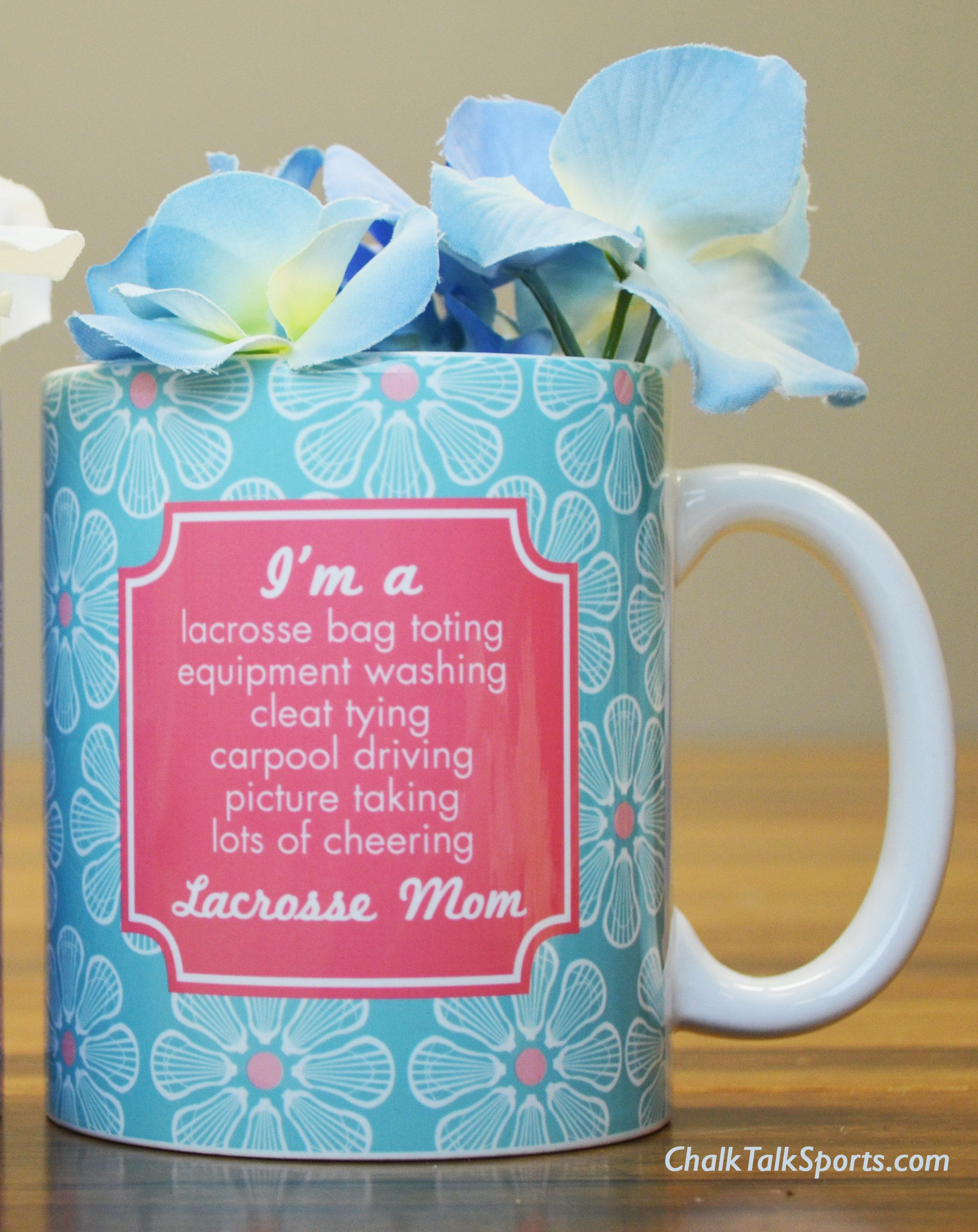 Lacrosse Mom Gifts from ChalkTalkSports. The perfect gifts for your lacrosse mom this Mother's Day