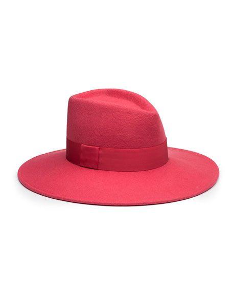 339f1d86 EUGENIA KIM . #eugeniakim #   Eugenia Kim   Hats, Wool Felt, Pink hat