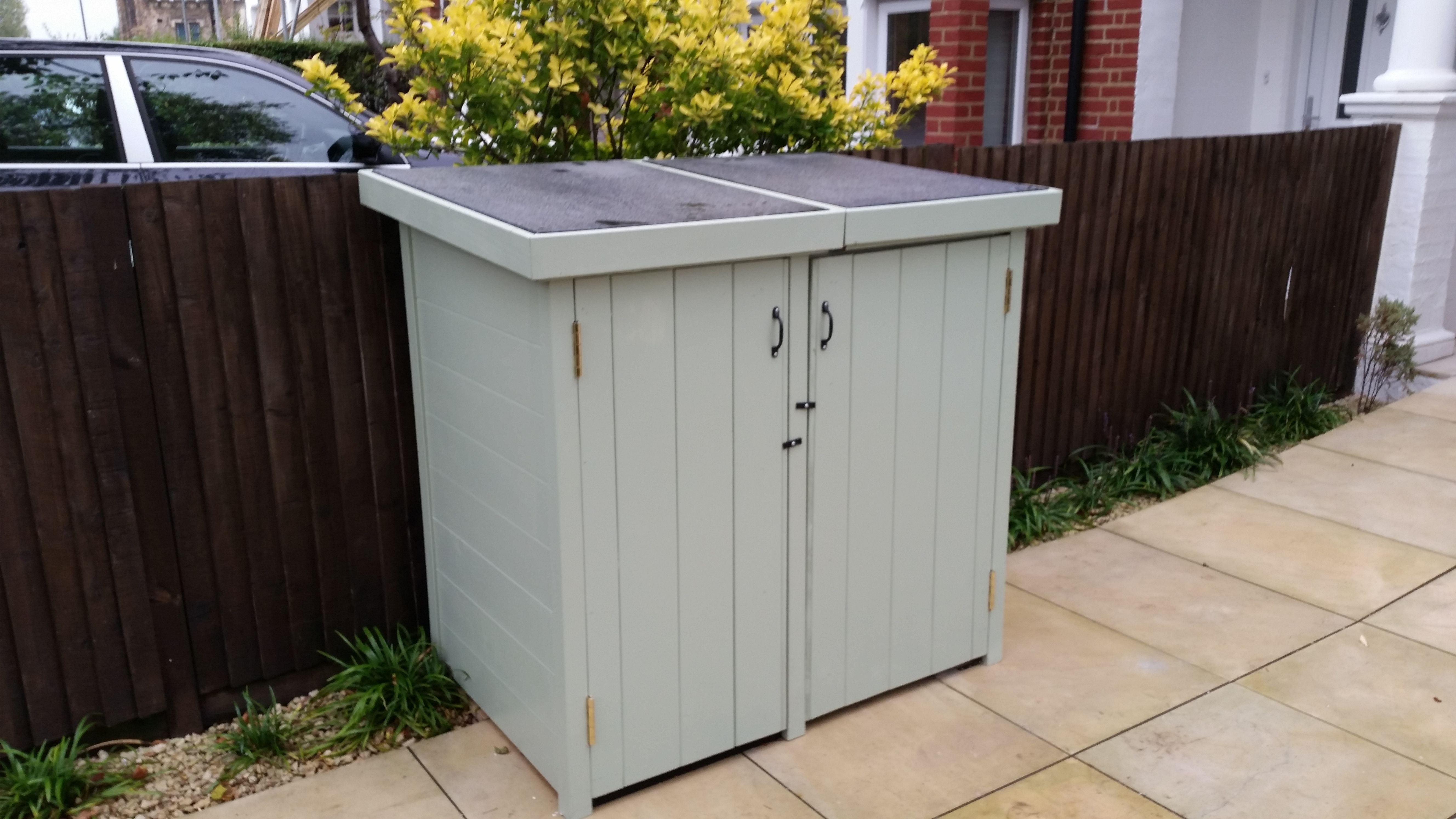Wheelie Bin Storage By The Bike Shed Company