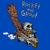 TeeFury: Rocket & Groot