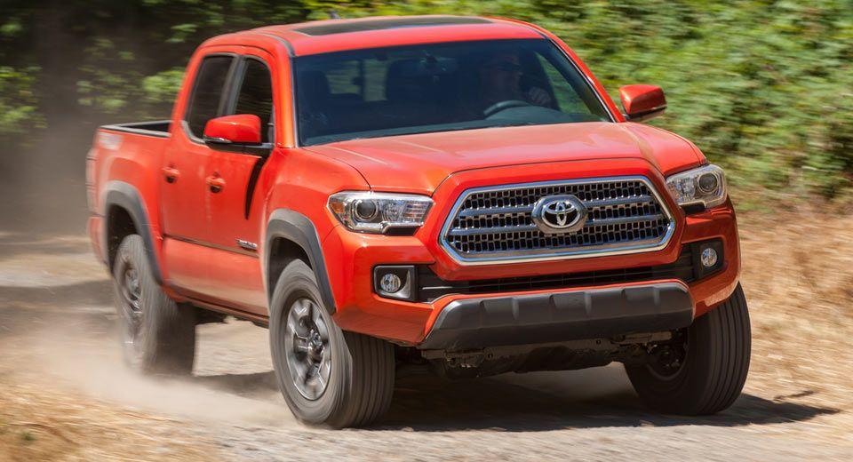 Toyota Recalls Quarter Of A Million Tacoma Trucks From 2016 And 2017 Carscoops Tacoma Truck Toyota Tacoma Toyota