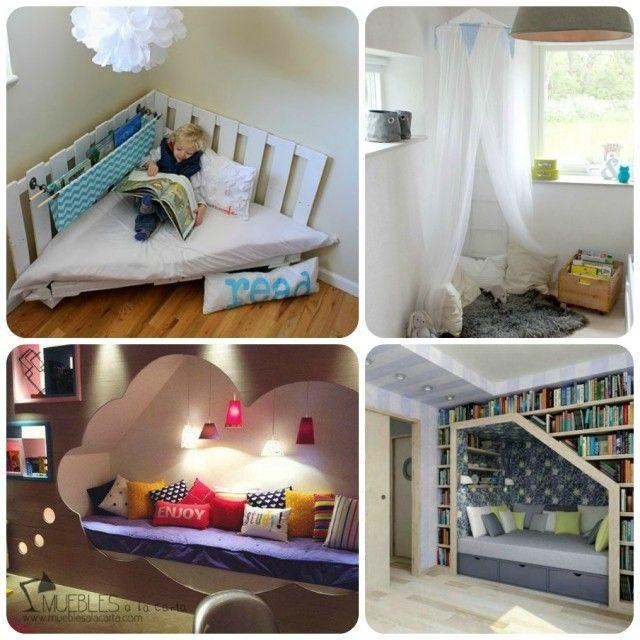 Claves para un Rincón de Lectura cómodo y acogedor Cave and Cozy - rincon de lectura