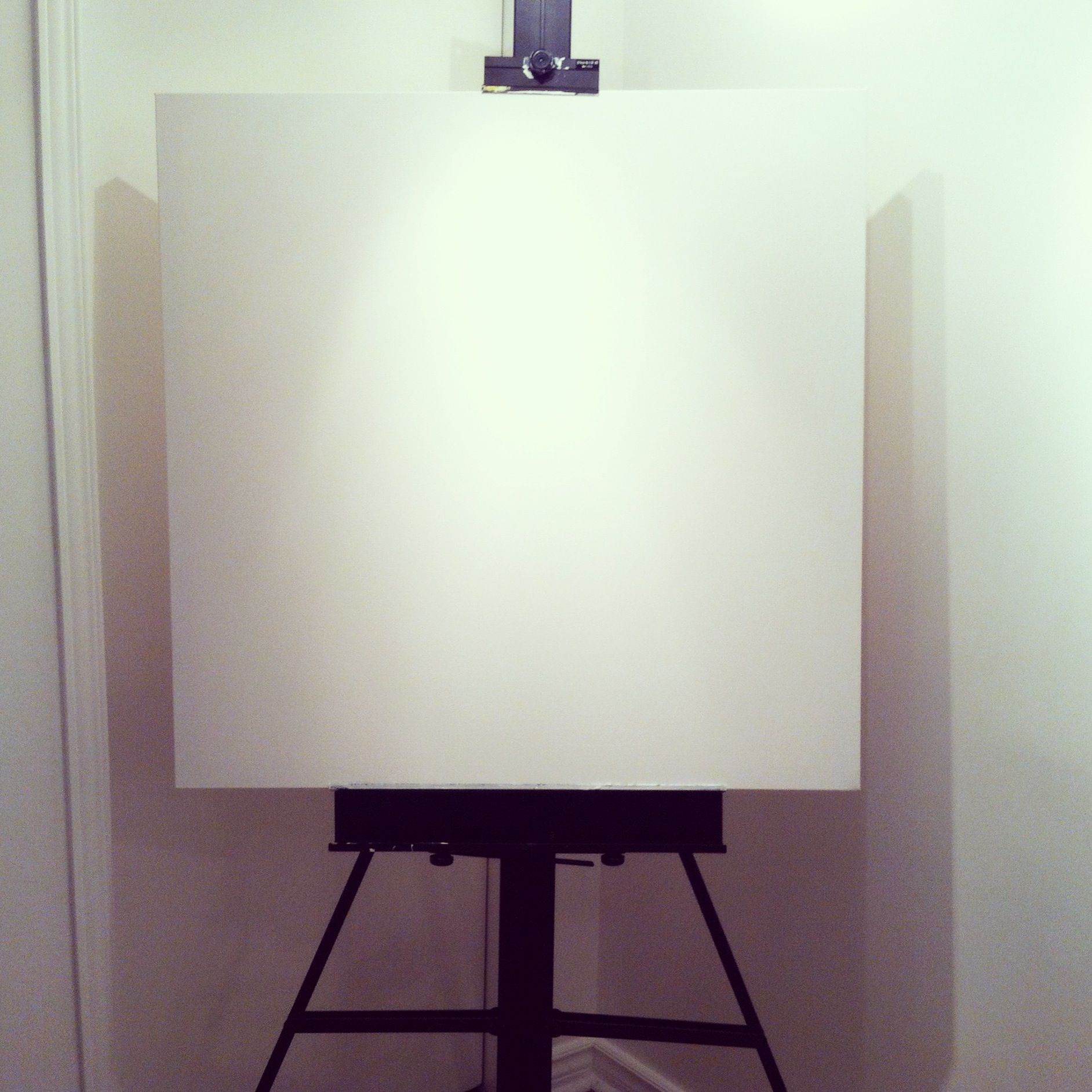 Nothing beats the smell of fresh canvas