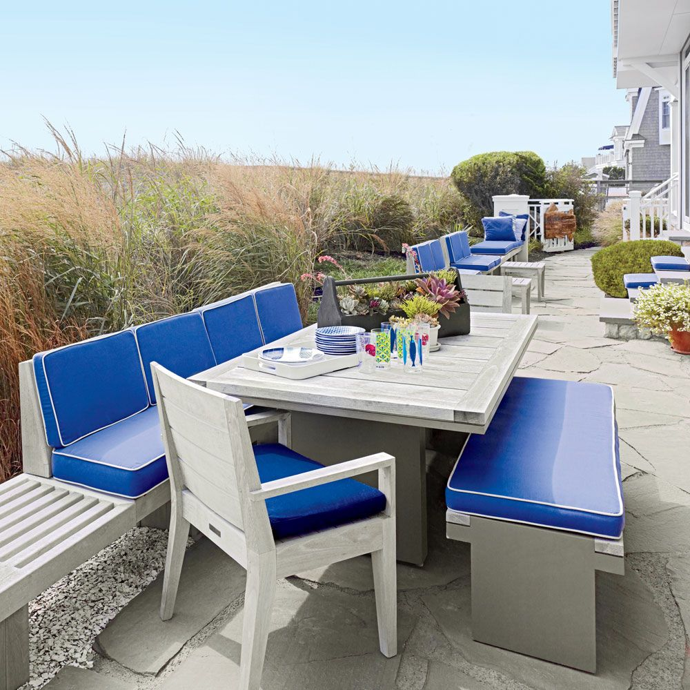 16 Absolutely Gorgeous Mediterranean Dining Room Designs: Colorful Jersey Shore House Tour