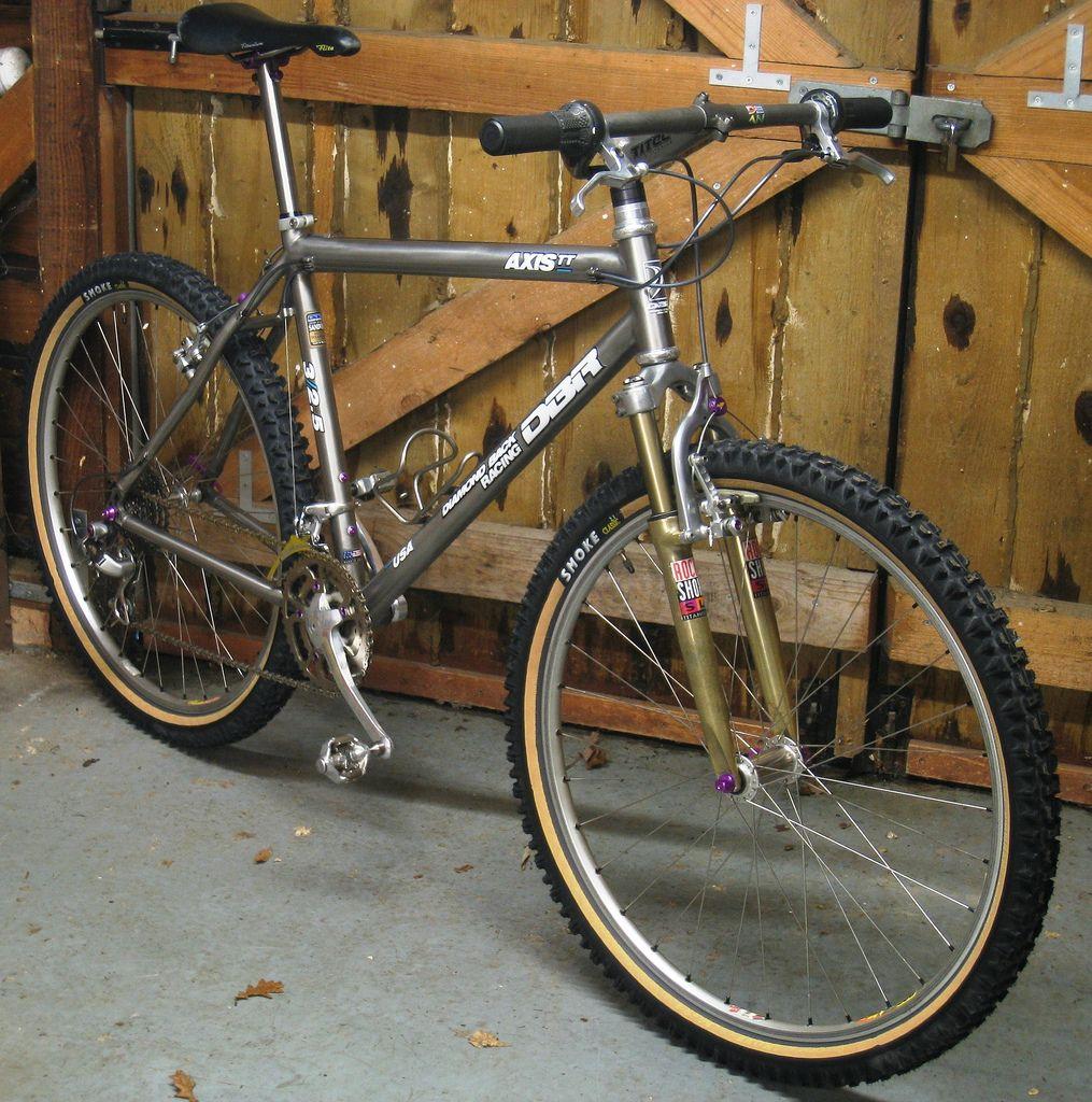 Wadsy' 1993 Diamondback Axis Team Titanium Bikes Cykler