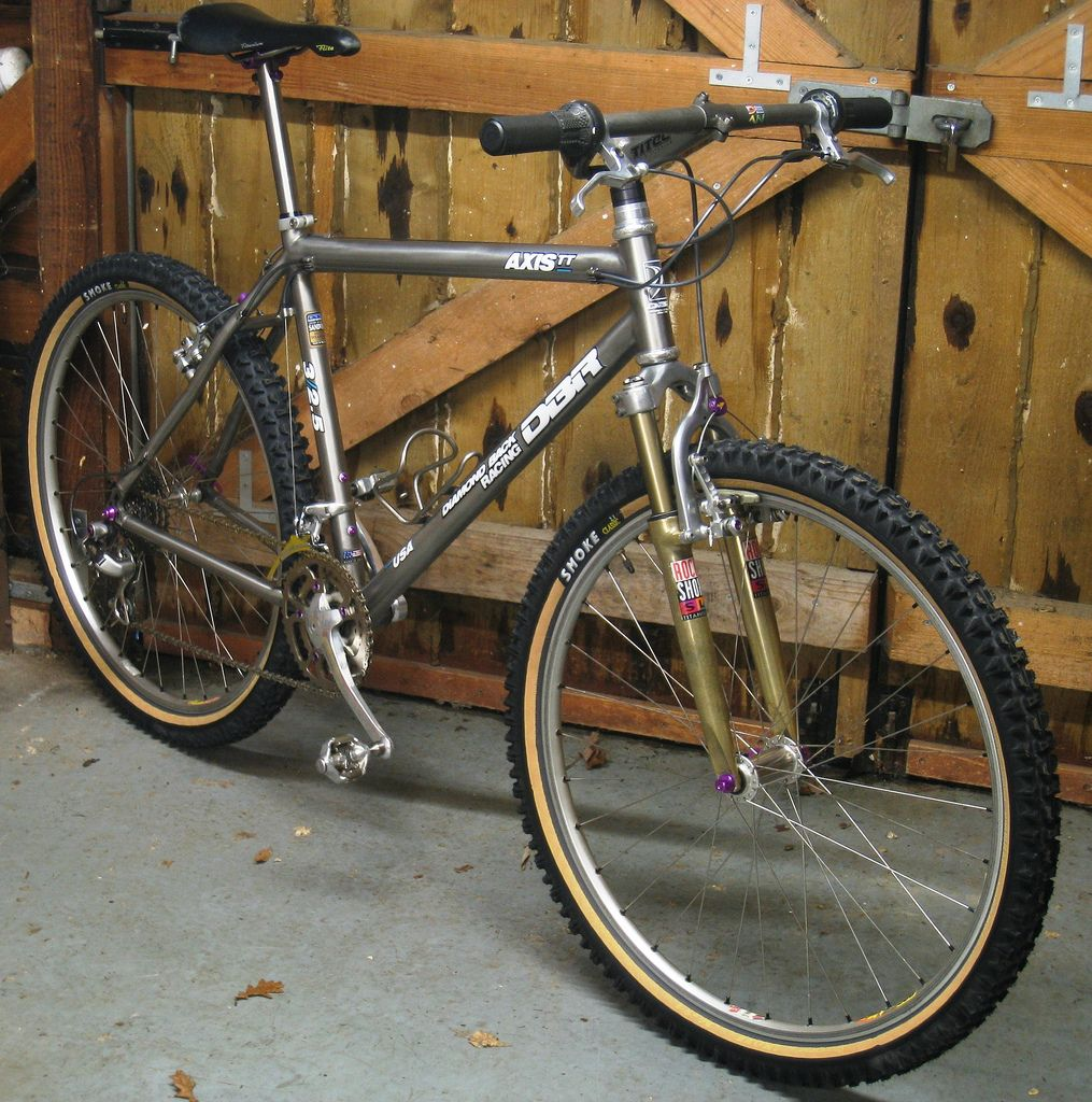 Wadsy S 1993 Diamondback Axis Team Titanium Is Bike Of The Month January 2014 Retrobike Vintage Mountain Bike Titanium Bike Specialized Mountain Bikes