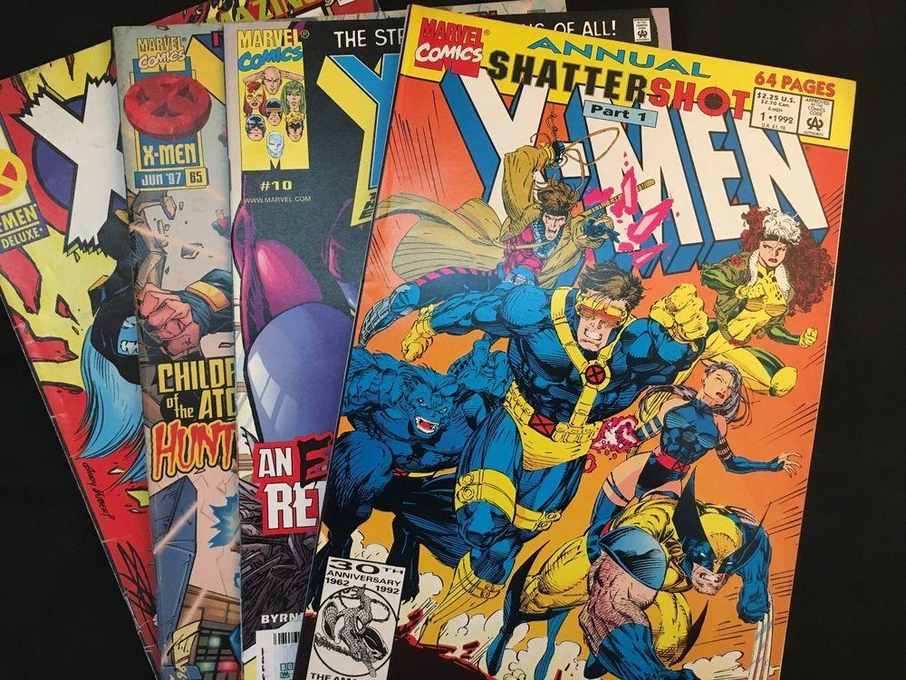 Details About X Men Annual Vol 1 No 1 Shattershot Part 1 64 Pages Plus 3 More X Men Comics With Images X Men Graphic Novel Geek Stuff