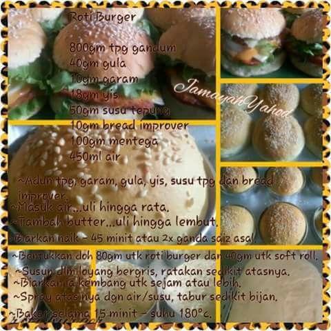 Roti Burger Roti Bread And Pastries Pastry Design