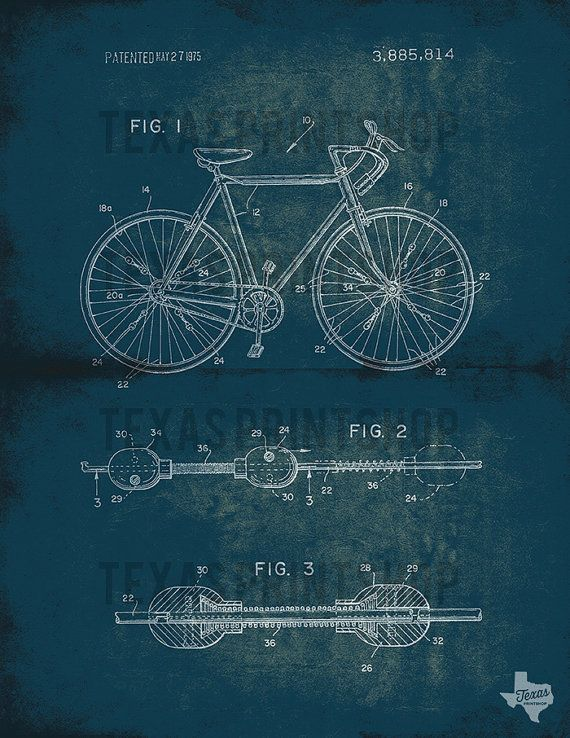 20+ Free Vintage Printable Blueprints and Diagrams Remodelaholic - copy plane blueprint wall art