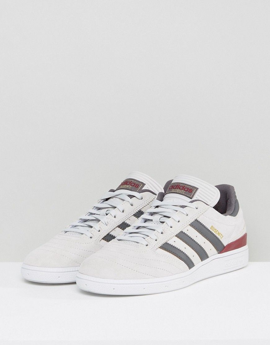 ec05dea45 adidas Skateboarding Busenitz Sneakers In Gray BY3964 - Gray ...