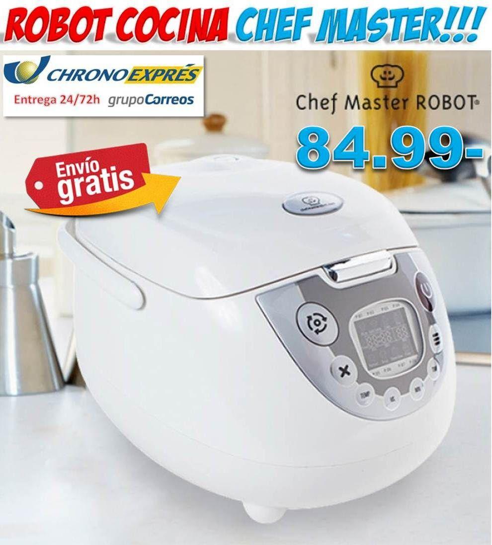 #cocina #hogar #electrodomesticos #ofertas #regalos #chef #master #robot #ofertas #descuentos Comprar en Yougamebay robot de cocina Chef Master barato. Tienda online de electrodomesticos con envío incluido en el precio!!! http://www.yougamebay.com/es/list/category/electrodomesticos_baratos
