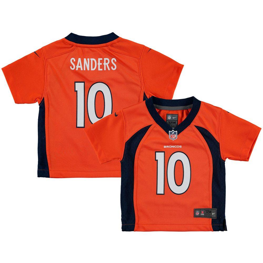 Infant nike emmanuel sanders orange denver broncos team