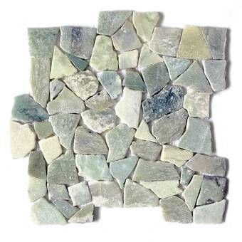 FuStone Bali Mix Random Sized Natural Stone Mosaic Tile in Brown/Tan & Reviews | Wayfair