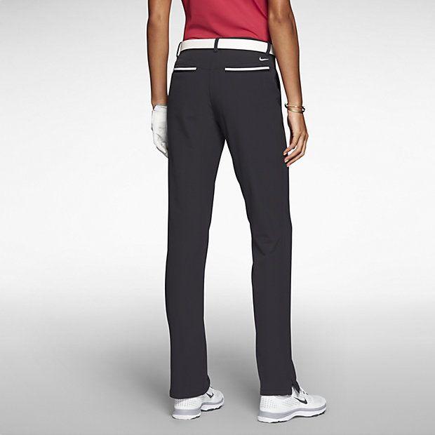 Nike Womens Golf Pants - Nike Modern Rise Tech Black/Black C89g4953