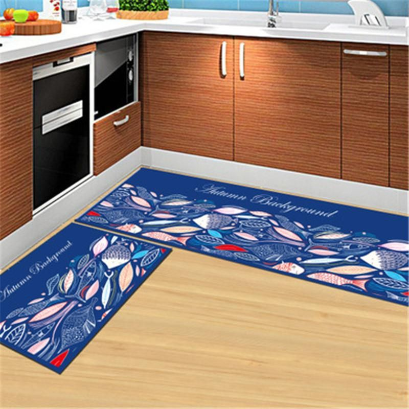 Colorful Non Slip Kitchen Mats And Rugs With Images Living