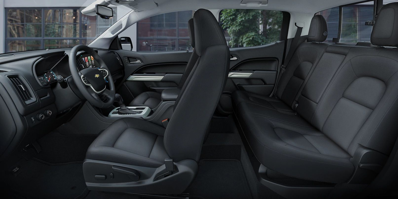 2018 Chevy Colorado Interior Design With Seating Capacity More At