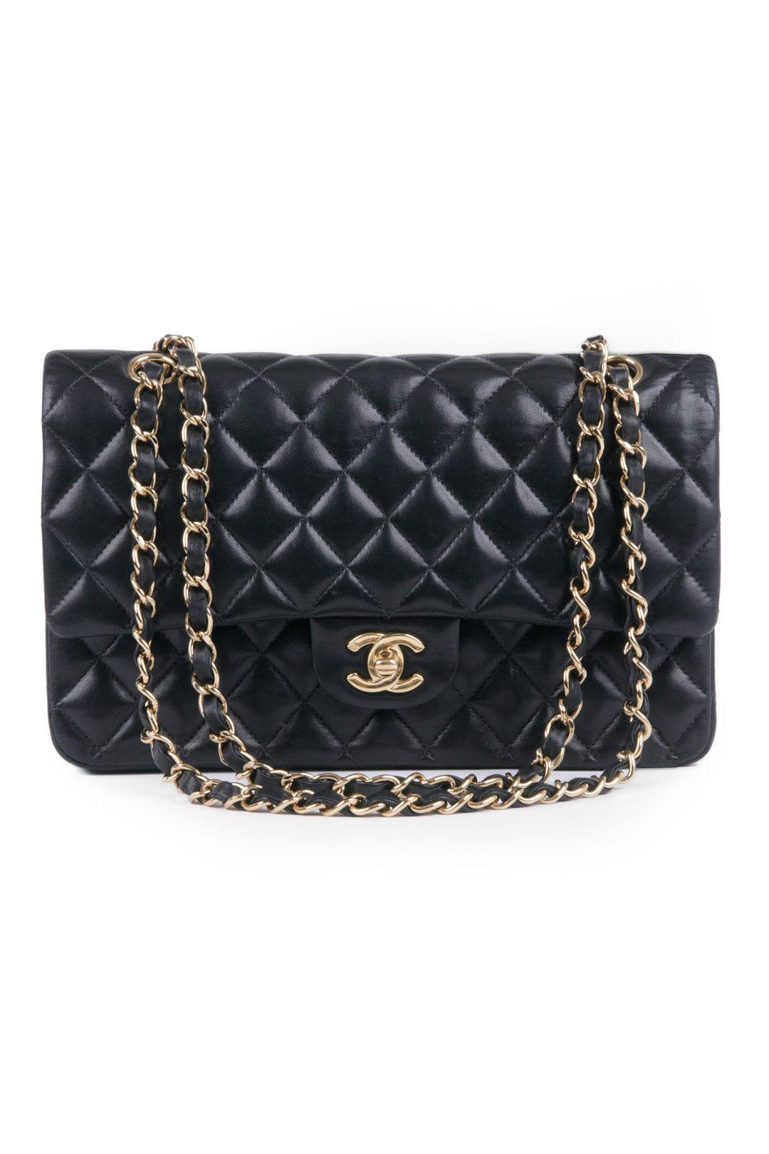 9207b9d8f2ed WGACA Vintage Vintage Chanel Classic Black Coco Bag   For Myself ...