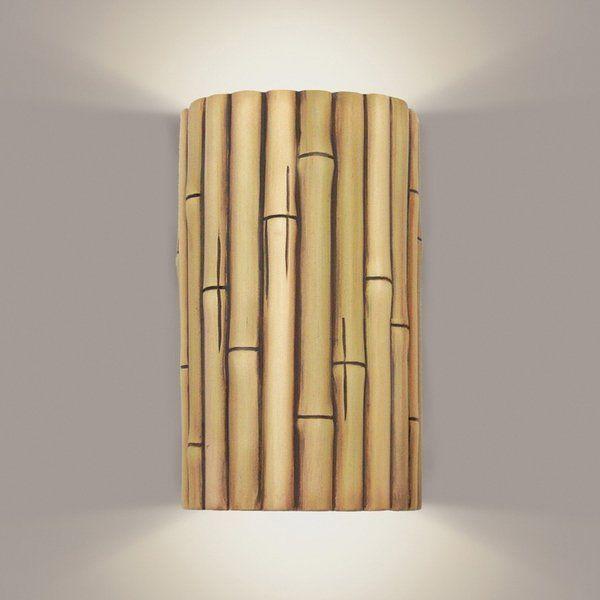 Decorative Bamboo Sticks Wall Sconces Lighting Ideas Home Decor