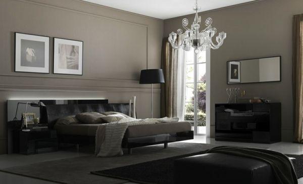 Kronleuchter Für Schlafzimmer ~ Beleuchtung im schlafzimmer kronleuchter hinter bettbrett sz