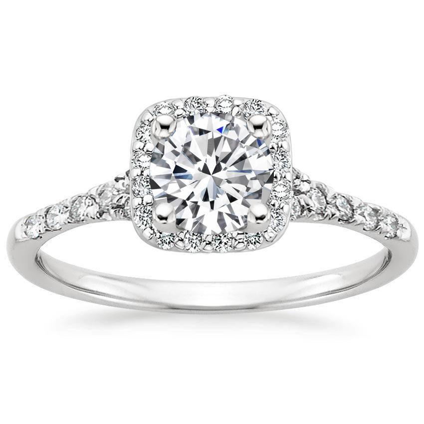 18K White Gold Harmony Diamond Ring from Brilliant Earth