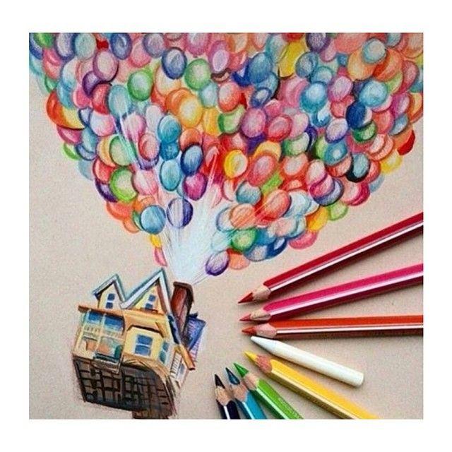 This Is Beautiful Up Disney Pixar Balloons Disneyart