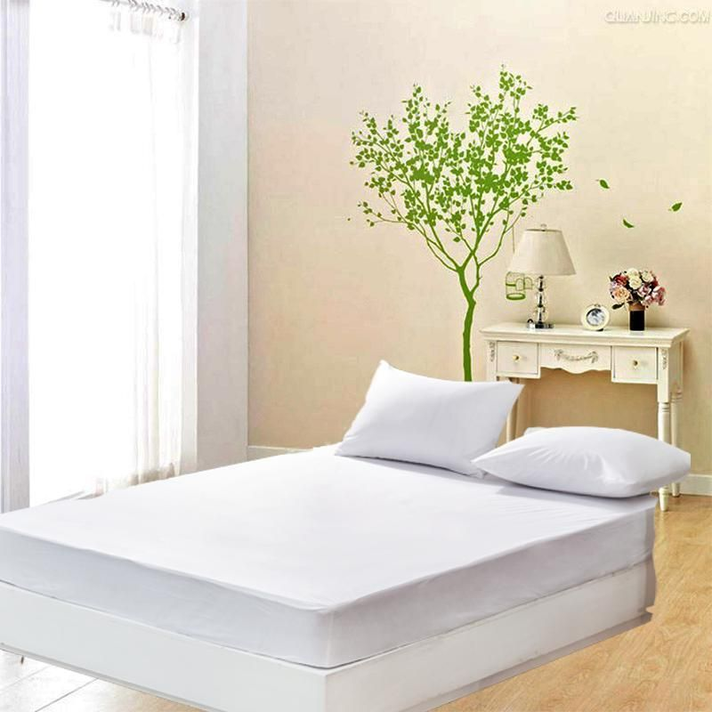 Dfh Size 140x200cm Cheapest Smooth Waterproof Mattress Protector