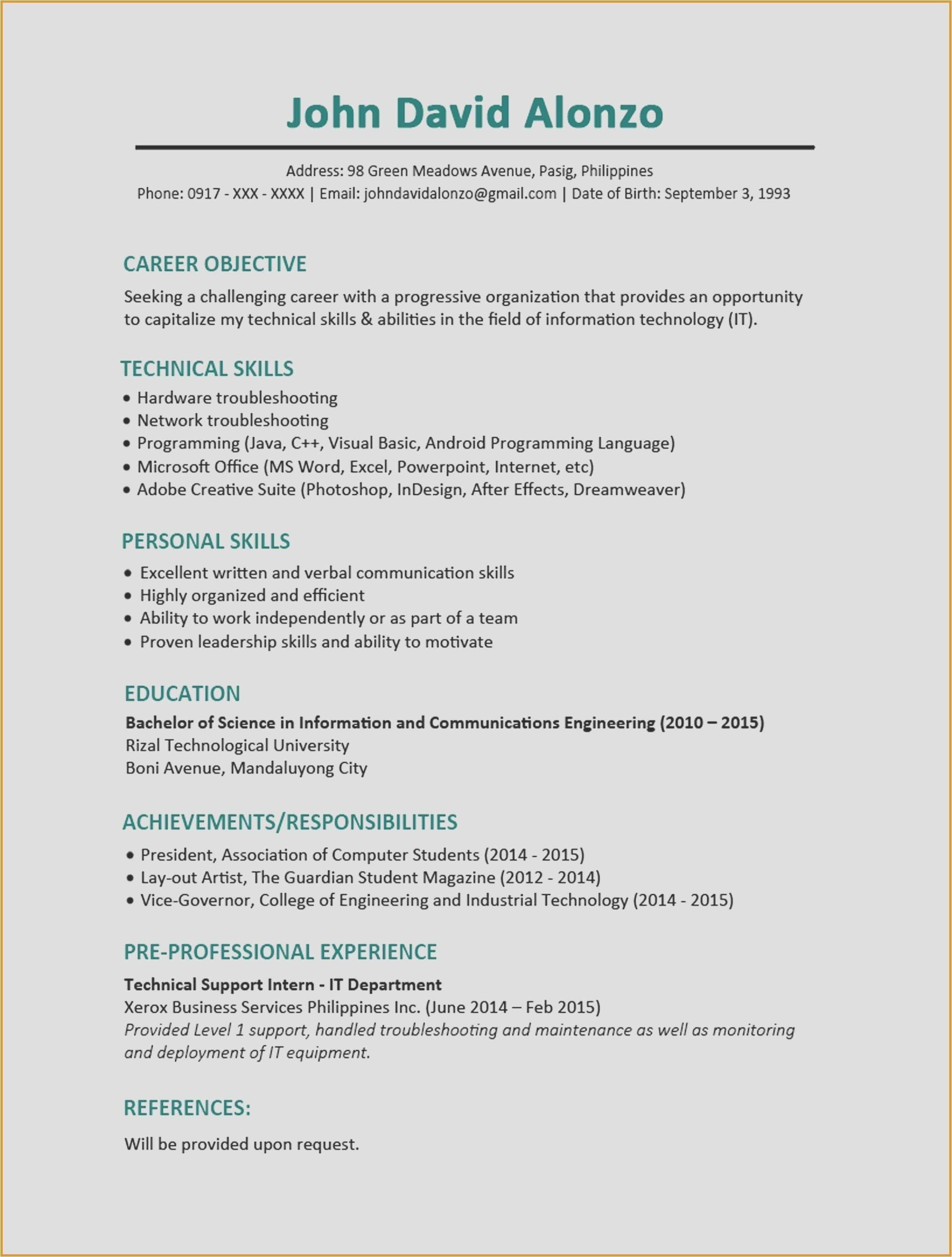 Listing Certifications On Resume Fresh Unique How to List