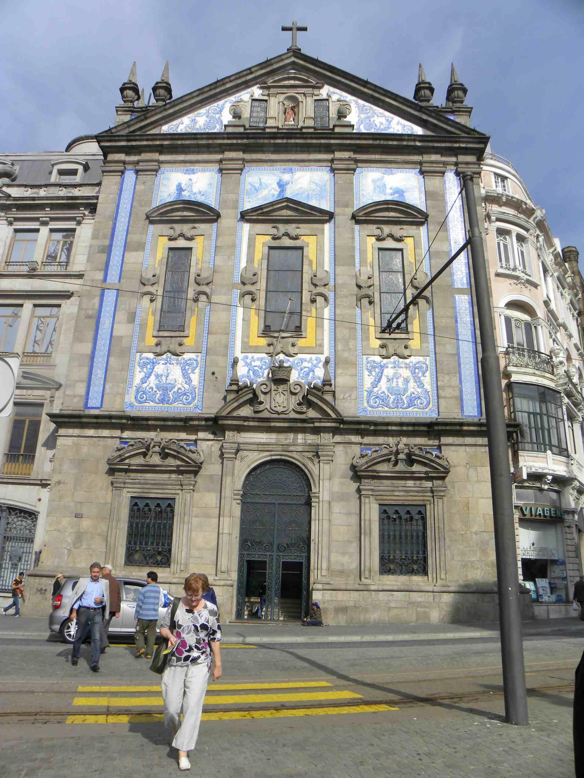 Azulejo route Igreja dos Congregados PORTO