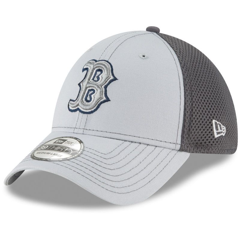 385a39dba29 Boston Red Sox New Era Grayed Out Neo 39THIRTY Flex Hat - Gray in ...