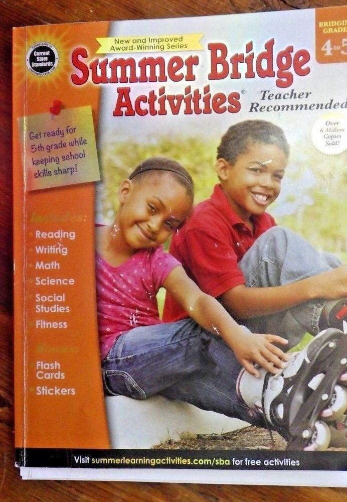 Summer Bridge Activities®, Grades 4 - 5 #Textbook ...
