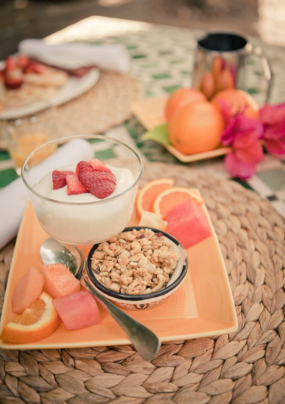 Breakfast @ Korakia Resort Palm Springs