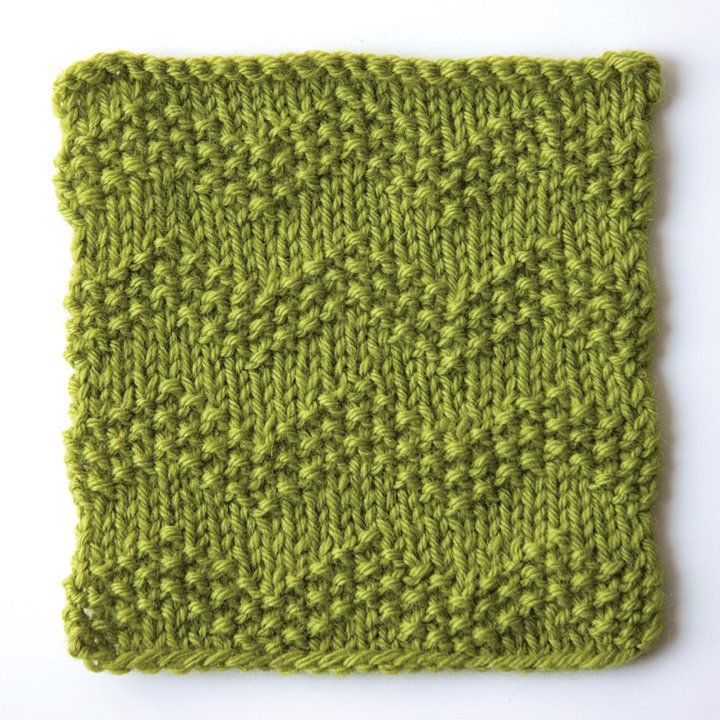 How to knit seeded chevron stitch | KNIT T | Pinterest | Tejido, Dos ...