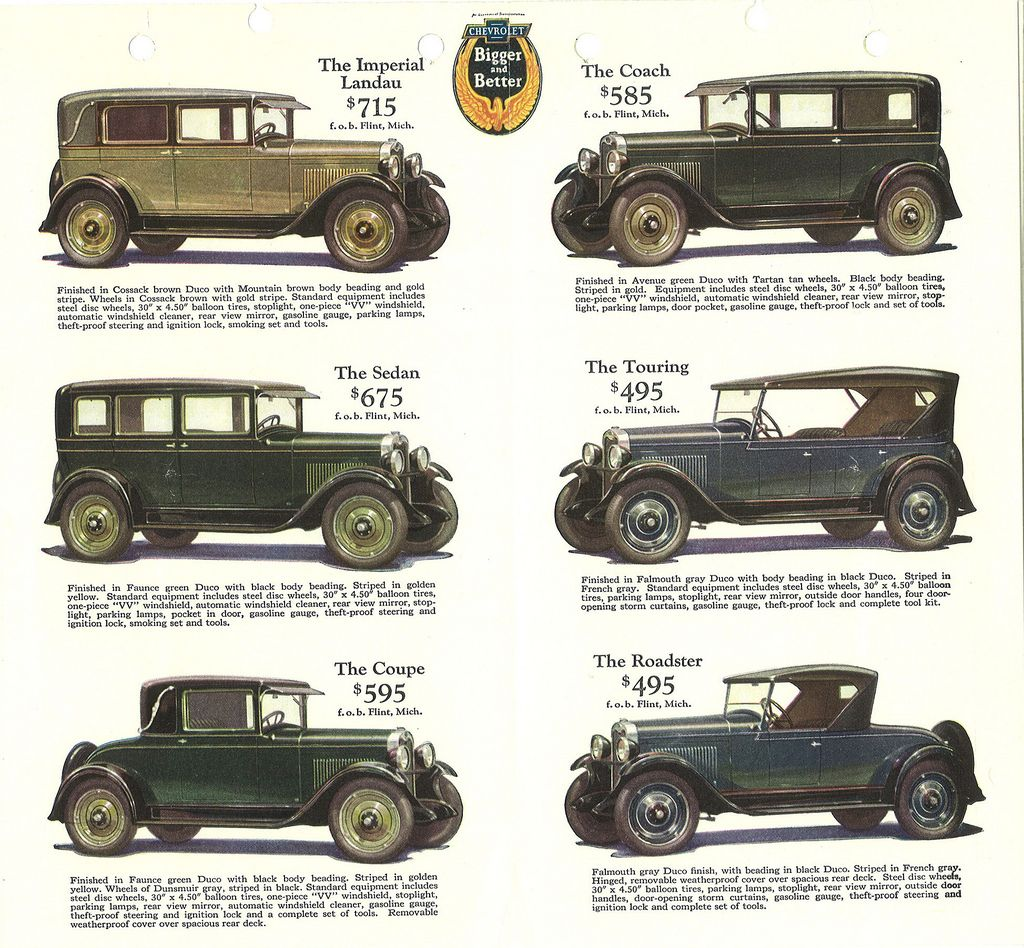 Car price list, circa 1930 | Car prices, Price list and Cars