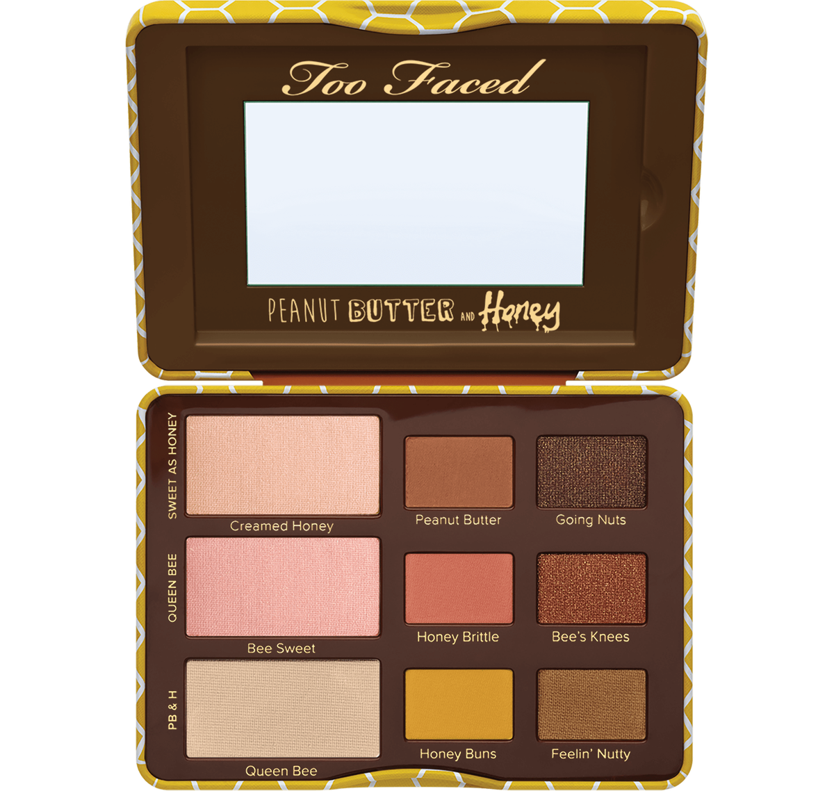 Peanut Butter and Honey Eye Shadow Palette Too Faced