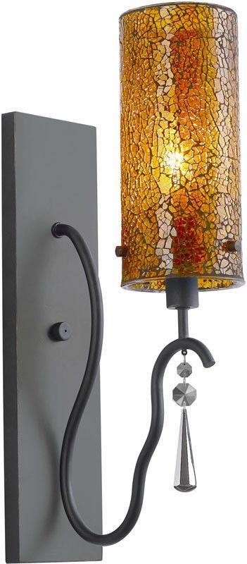 Woodbridge Lighting 14241BLK Haley 1-light transitional Wall Sconce