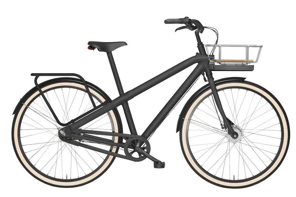 Vanmoof Noir 6 With 7 Speed And 28 Frame Vanmoof Commuter Bicycles Urban Bike Commuter Bicycle Bicycle
