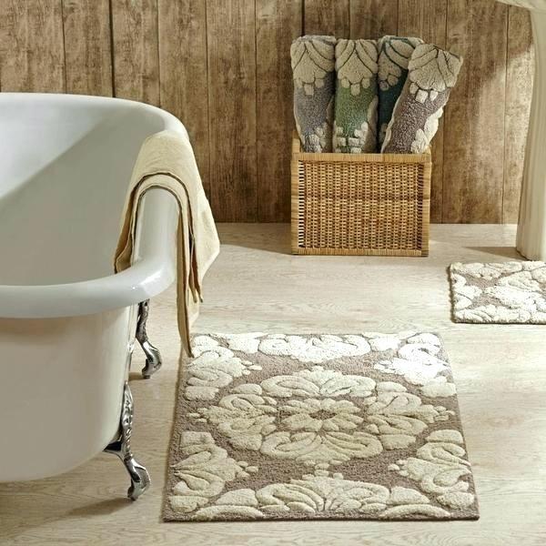 decorative large bathroom rugs in 2020 | bath rugs sets