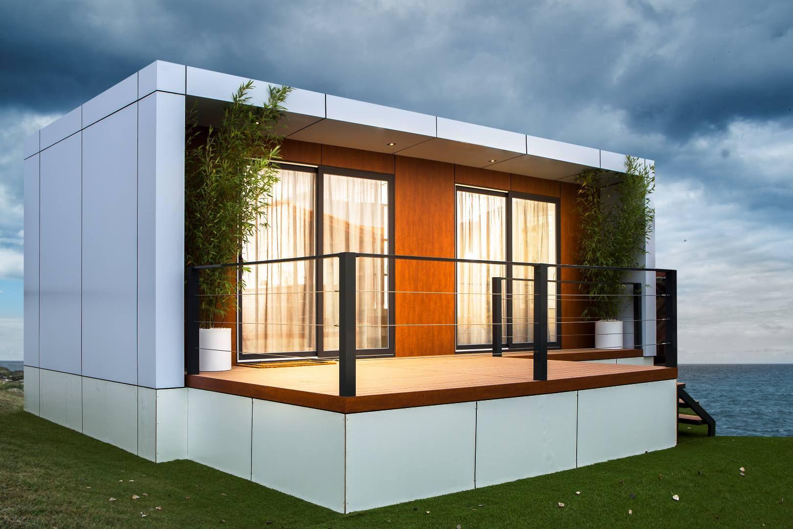 Exterior modelo mod casa prefabricada pinterest casa for Moviles modernos
