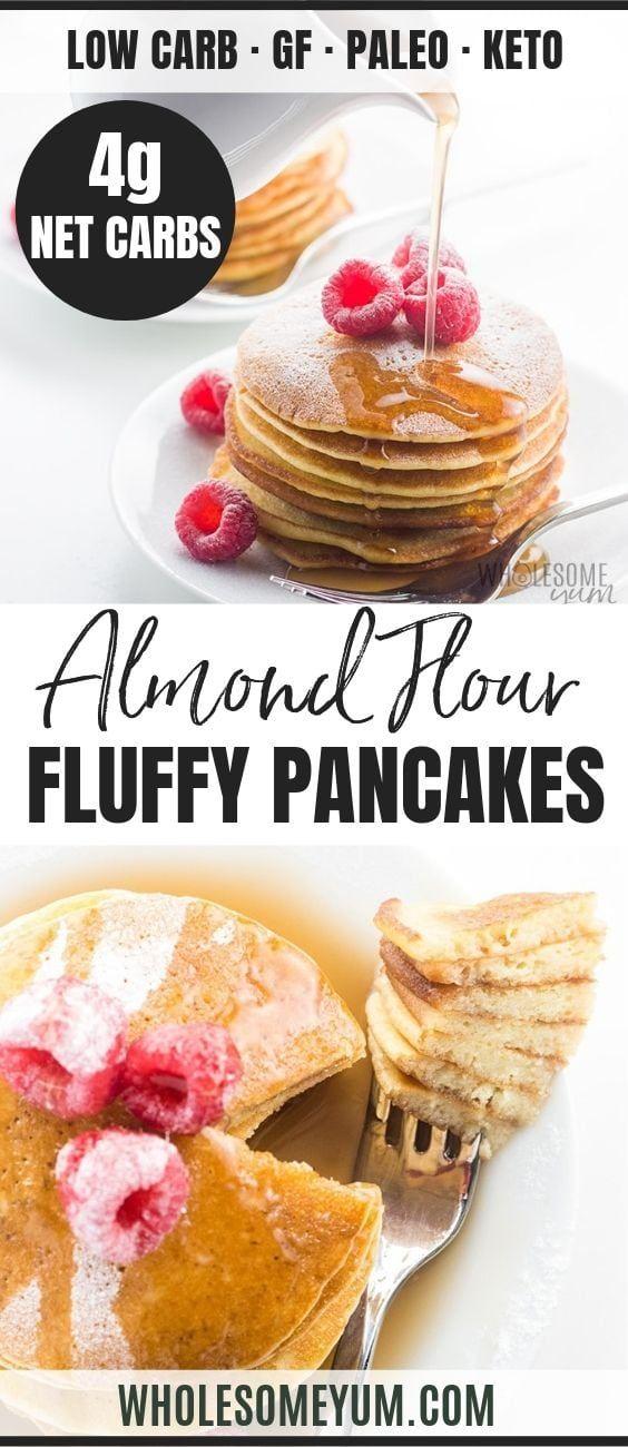 Photo of Easy Keto Almond Flour Pancakes Recipe