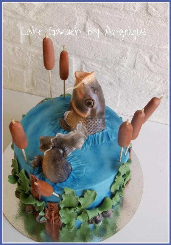 Carp Cake By Lalique1 Cakes Cake Decorating Daily Inspiration