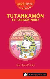 Aventuras en dos tiempos del faraón niño, y de quién será luego el descubridor de su tumba, también cuando era niño.