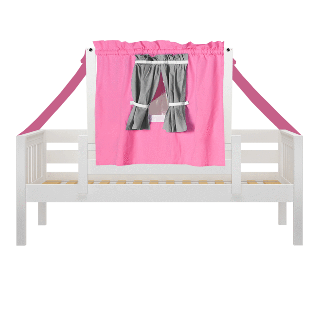 Twin Toddler Bed With Tent In 2020 Toddler Bed Toddler Bed Tent Bed Tent