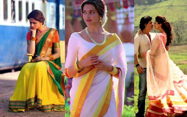 chennai express deepika costumes - Google శోధన   Saree ...