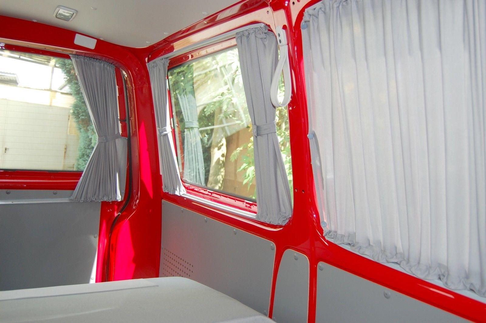 vw t5 t6 transporter startline multivan gardinen sonnenschutz 12 teilig baimex in auto. Black Bedroom Furniture Sets. Home Design Ideas