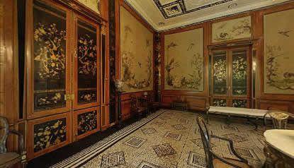 De Huizen van Oranje en Nassau - Paleis Huis ten Bosch vervolg -- dus hier heeft de koningin haar japon op gebaseerd
