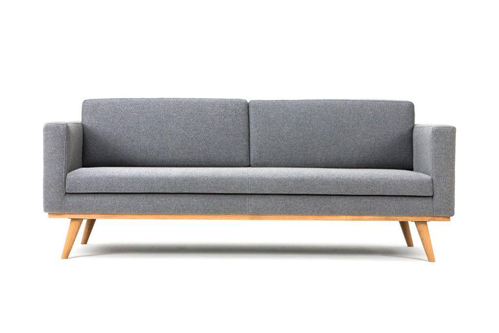 Johan 3 Seater Sofa Andie Light Grey Möbel Sofa 3